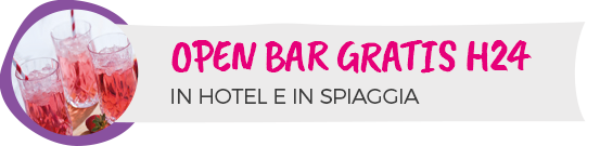 Hotel Cervia con Open Bar